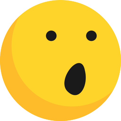 Emoji, Emoticon, Emotion, Shocked, Wonder Icon Free Of Emoji
