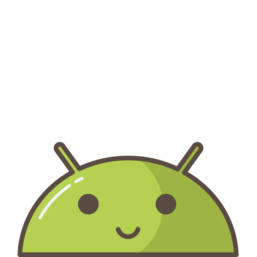 Android, Emoji, Happy, Mobile, Mood, Robot, Smile Icon