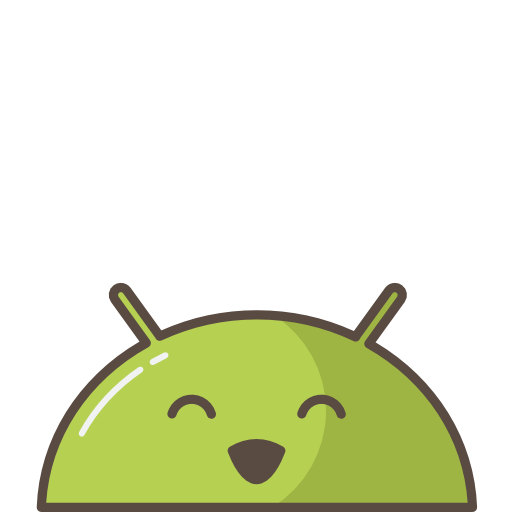 Android, Robot, Mobile, Mood, Emoji, Smile, Happy, Successful Icon