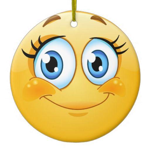 Smile Happy Face Friendship Ornamenet