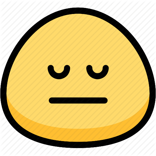 Emoji, Emotion, Expression, Face, Feeling, Neutral Icon