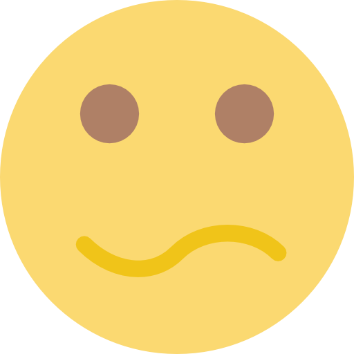 Emoticon, Face, Confused, Smiling, People, Interface, Feelings