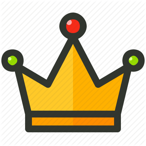 Amber, Authority, Crown, Emperor, King, Royal, Winner Icon