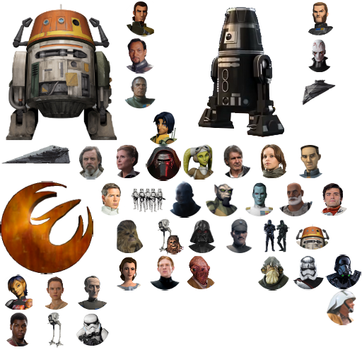 New Star Wars Canon Icon Pack Addon