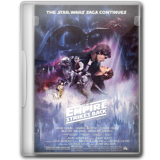Star Wars The Empire Strikes Back Icon Star Wars Dvd Iconset