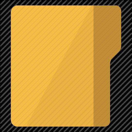 Archive, Closed, Empty, Folder, Vertical Icon
