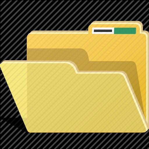 Data, Directory, Empty, File, Folder, Storage Icon