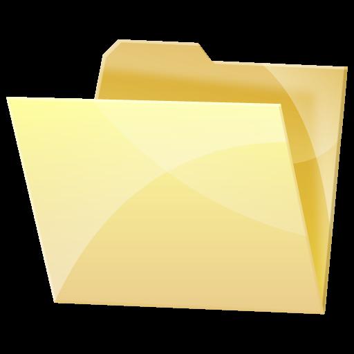 Empty, Folder, Dock, Blank Icon