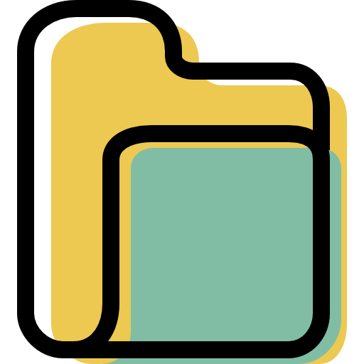 Folder, Empty Icon Free Of Color Interaction Assets Icons
