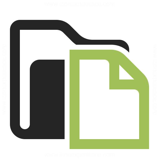 Folder Document Icon Iconexperience