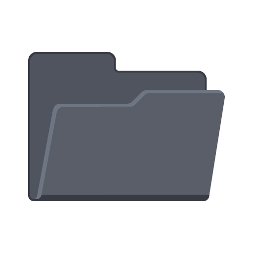Open Folder Icon Flat Folder Iconset Pelfusion