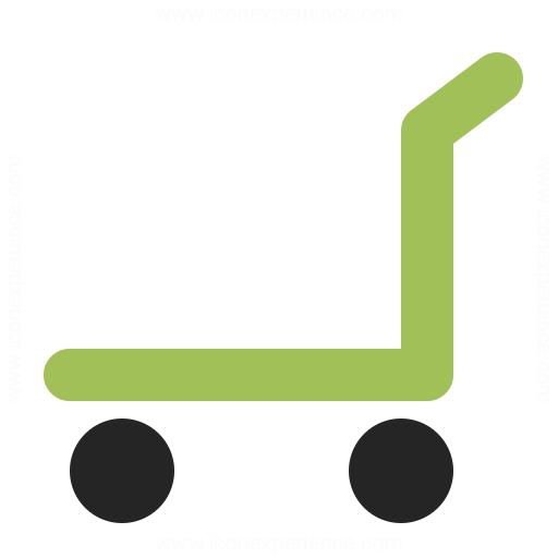 Platform Truck Empty Icon Iconexperience