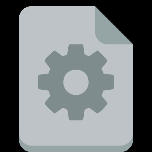 Exe Icon Small Flat Iconset Paomedia