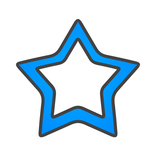 Star, Empty Icon