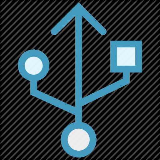 Enable, Plug, Sign, Sub Sign, Usb, Usb Symbol Icon