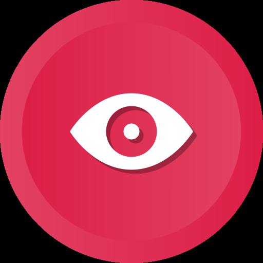 Watch, Eye, Views, View, Enable Icon
