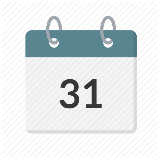 Calendar, Date, Day, End, Last, Month, Year Icon