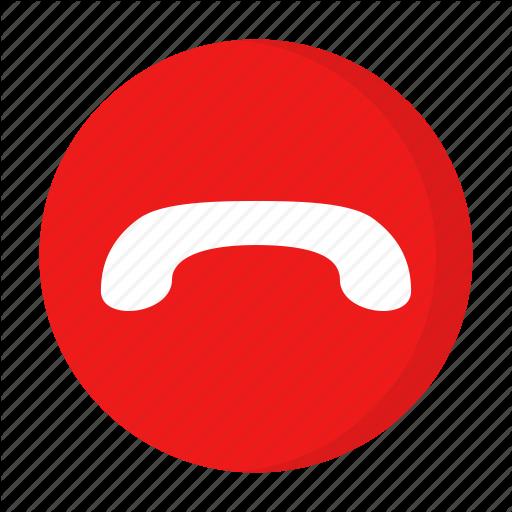 Call Drop, Call End Icon