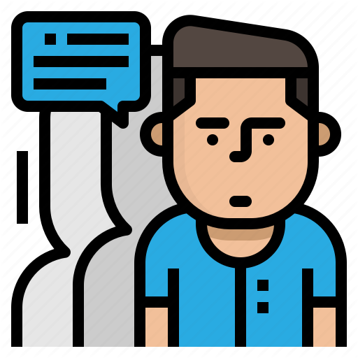 Comment, Consultant, Customer, End, User Icon