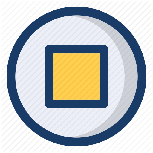 End, Music, Play, Stop, Video Icon