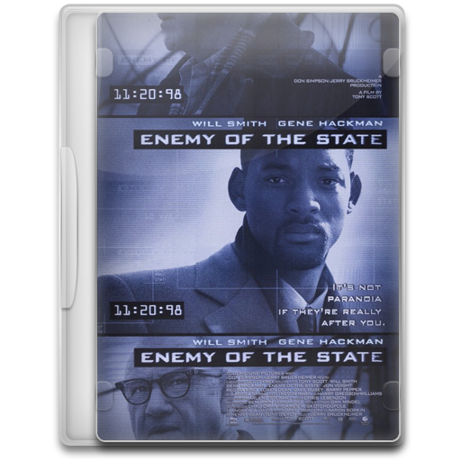 Covers, Cover, Enemy, Of, The, State, Movie Icon Free Of Movie