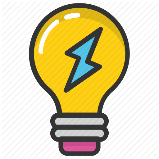 Bulb Energy, Electric Power, Energy Efficient, Power Symbol