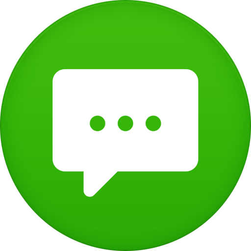 Messages Icon Ez Green Home
