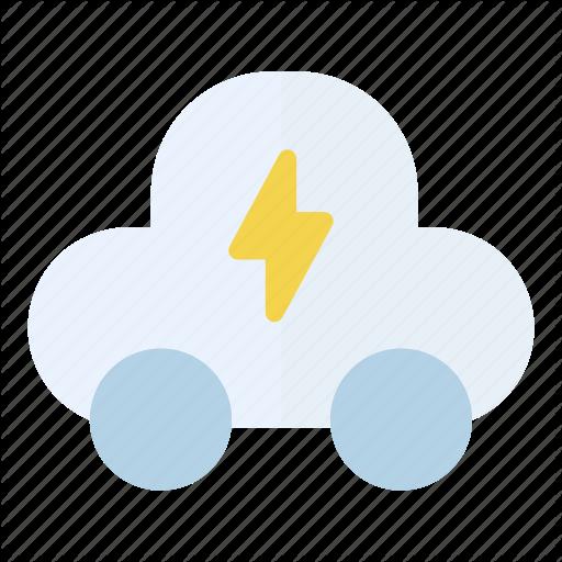 Car, Electricity, Energy Icon