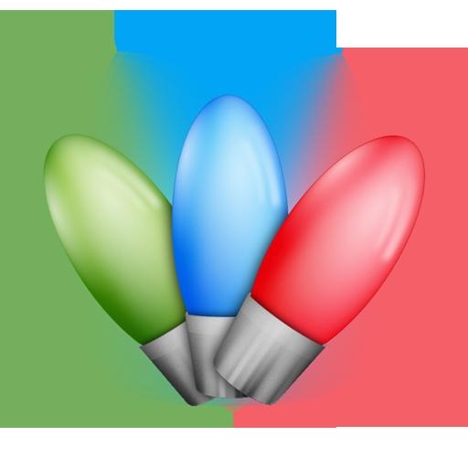 Bulbs, Christmas, Leds, Lights Icon