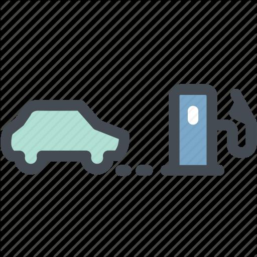 Car, Dashboard, Indicator, Light, Low Fuel Warning, Vehicle