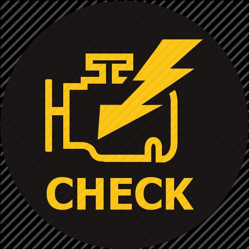 Check, Emission Control L Emissions Warning, Engine, Engine