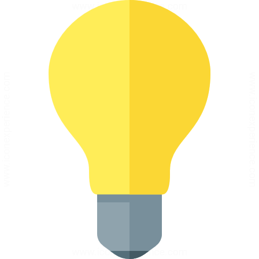Iconexperience G Collection Lightbulb On Icon