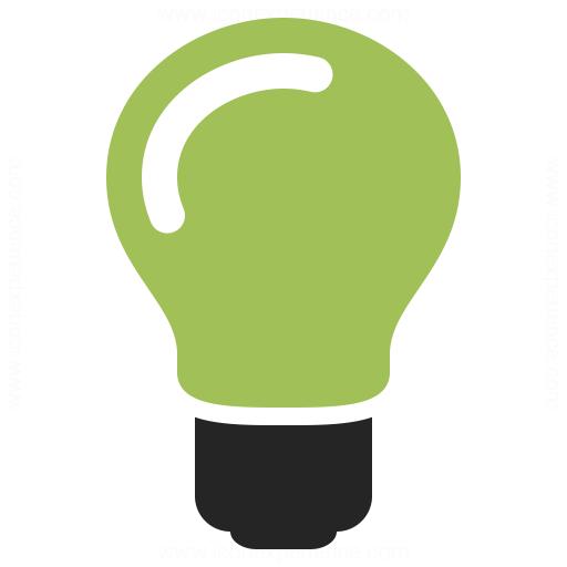 Lightbulb On Icon Iconexperience