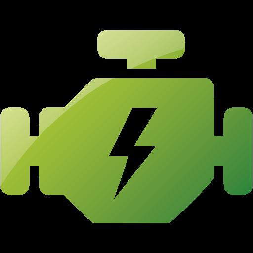 Web Green Engine Icon