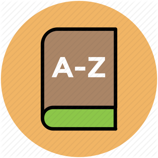 A Z, A Z Book, Complete Book, English Book, English Dictionary