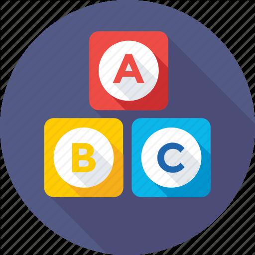 Abc Block, Alphabet Blocks, Basic English, Early Education