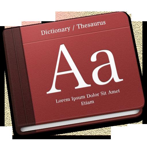 Dictionary Icon Book Iconset Mcdo Design