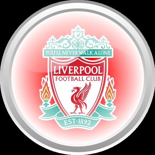 Flag Football Premier English Liverpool Icon Logo Image