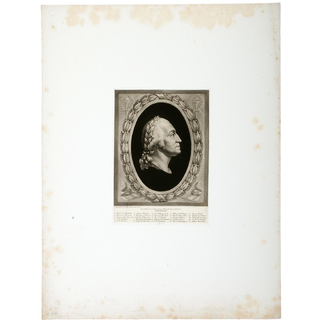 Max Rosenthal Engraving Of George Washington