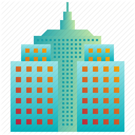 Building, City, Company, Enterprise, Hall, Headquarter Icon