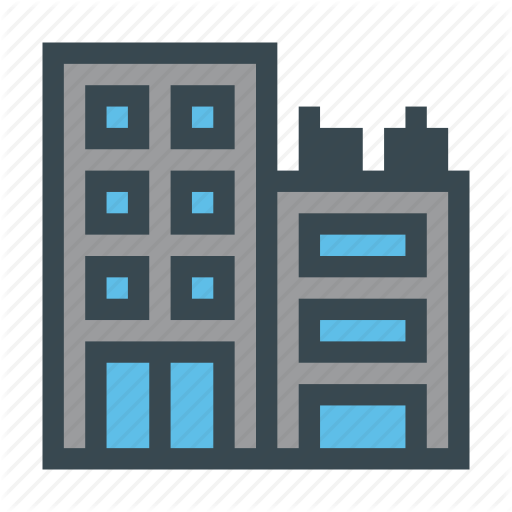 Building, City, Company, Enterprise Icon