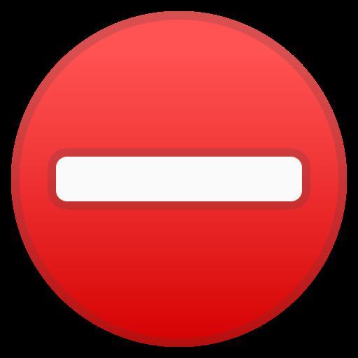 No, Entry Icon Free Of Noto Emoji Symbols