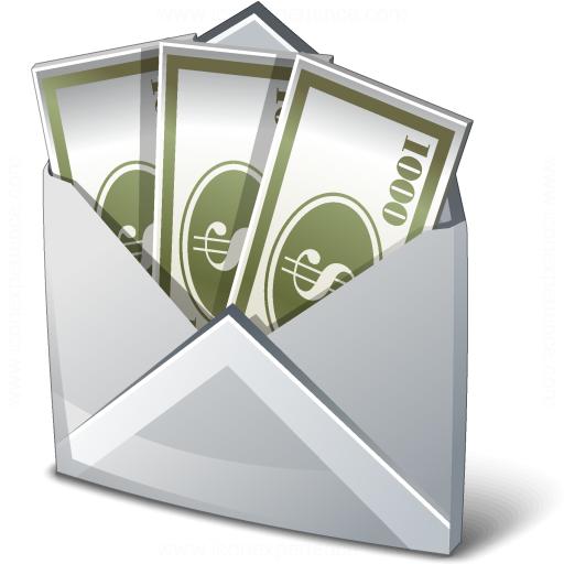Iconexperience V Collection Money Envelope Icon