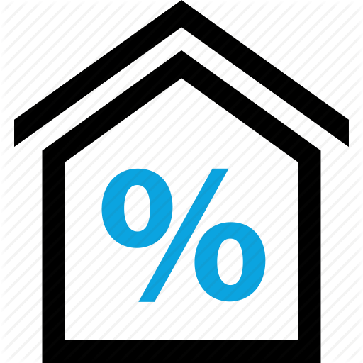 Equity, Home, House, Percent, Percentage, Rate, Revenue Icon