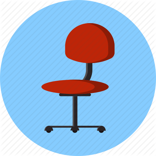 Chair, Ergonomic, Furniture, Office, Work Icon