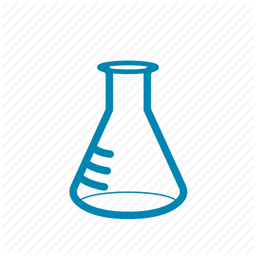 Analysis, Erlenmeyer, Flask, Lab, Research Icon