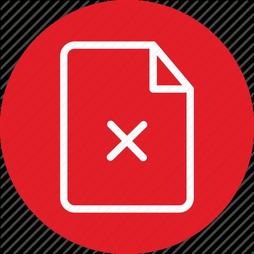 Broken File, Danger, Error, Error Icon, Warning Icon