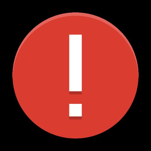 Dialog Error Icon Papirus Status Iconset Papirus Development Team