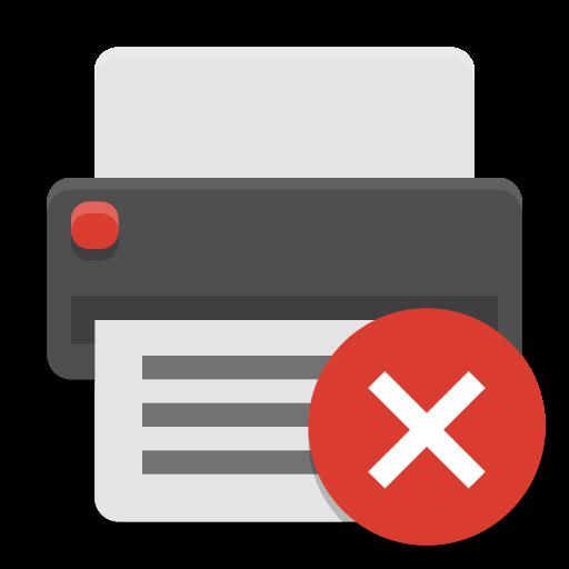 Printer Error Icon Papirus Status Iconset Papirus Development Team
