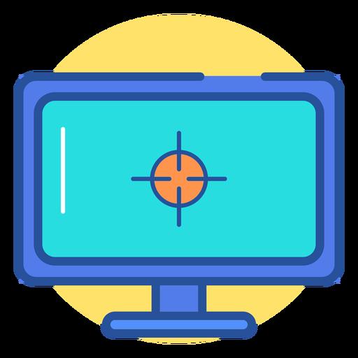 Gaming Monitor Icon
